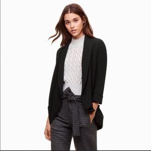 Aritzia Wilfred 8 Chevalier Black Blazer Jacket